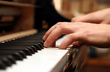 Piano Hand Position